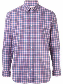 Kent & Curwen рубашка в клетку K3965TM130
