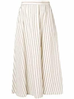 Lorena Antoniazzi длинная юбка в полоску LP3517G032921
