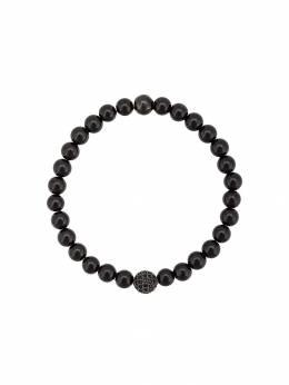 Nialaya Jewelry браслет с бусинами из агата MCHCO028