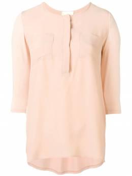 Semicouture блузка с нагрудными карманами Y9PU04