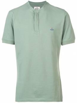 Vivienne Westwood футболка с вышитым логотипом S25GL0017S23142