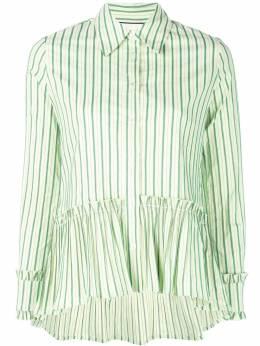 Alexis полосатая рубашка с баской A51801125051