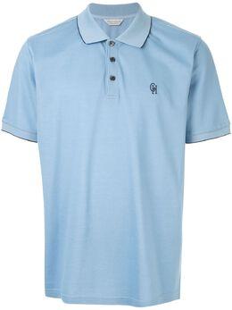 Gieves & Hawkes футболка-поло с вышитым логотипом G39H9ER07030