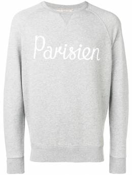 Maison Kitsune толстовка Parisien AM00301KM0001