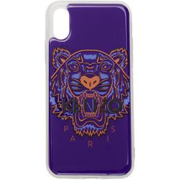 Kenzo Blue Tiger iPhone X/XS Case 192387F03200601GB