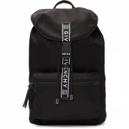 Givenchy Black 4G Light 3 Backpack BK500MK0B5
