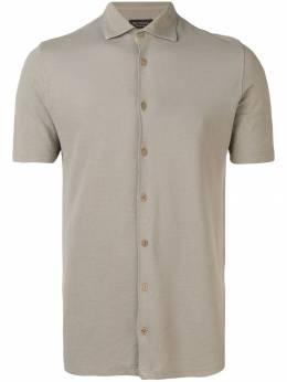 Dell'oglio рубашка-поло на пуговицах A34291440142710