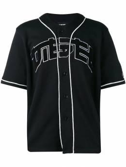 Diesel бейсбольная футболка из джерси без воротника 00SQ1X0AASF