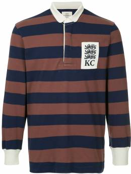 Kent & Curwen striped longsleeved polo shirt K38I7ER070