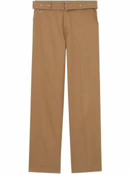 Burberry брюки с поясом 4558021