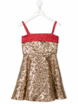Little Bambah платье с тиснением и эффектом металлик SS19LBSS1916