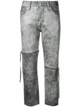 Mm6 Maison Margiela укороченные брюки кроя слим S62LB0013SY1385