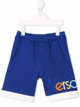 Young Versace - спортивные шорты с логотипом BE35YFE9369389969500