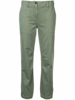 10 Crosby Derek Lam брюки прямого кроя со сборками TC00116CH