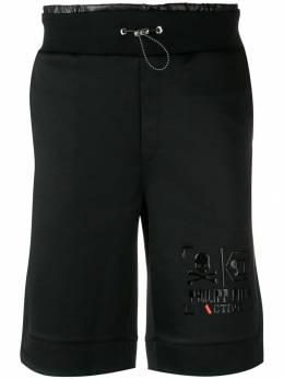 Philipp Plein спортивные шорты с логотипом S19CMJT0878PJO002N