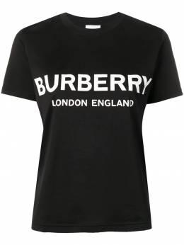 Burberry футболка с принтом логотипа 8011651