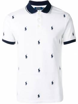 Polo Ralph Lauren рубашка-поло с логотипом 710737087