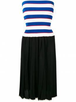 Sonia Rykiel трикотажное платье с плиссировкой 12353226VL