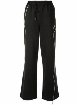 Ader Error спортивные брюки широкого кроя 19ASSPT04BK