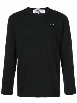 Comme Des Garcons Play long-sleeve heart logo T-shirt P1T120