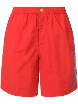 Kenzo плавки-шорты с логотипом F955BA208SEA