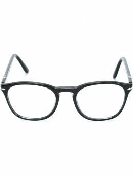 Persol очки в круглой оправе PO3007V