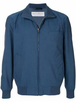Gieves & Hawkes куртка-бомбер в полоску G3950EI11033
