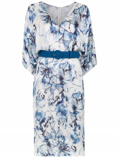 Tufi Duek midi printed dress 444803609 - 1