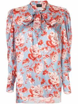 Magda Butrym блузка с цветочным принтом 1425194107