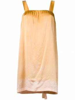 Raquel Allegra платье мини с эффектом градиента Y918045TD