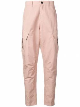 Stone Island Shadow Project брюки чинос с карманами карго MO701930308