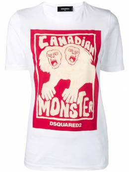 Dsquared2 футболка с графичным принтом S72GD0146S21600