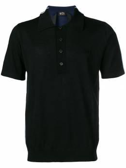 No. 21 трикотажная рубашка-поло N1MA0017019