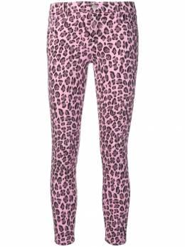 J Brand джинсы скинни с леопардовым принтом JB002436