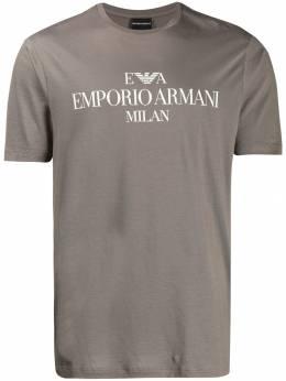 Emporio Armani футболка с логотипом 3G1TM41JHRZ