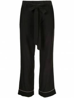 Kiki De Montparnasse пижамные брюки с поясом BO225