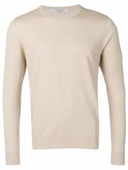La Fileria For D'Aniello классический трикотажный свитер 4316628390
