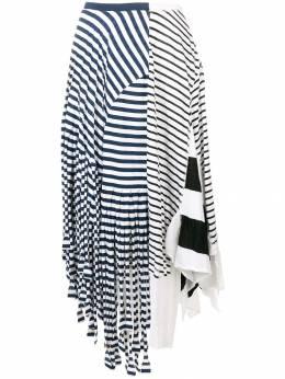 Loewe асимметричная юбка в полоску D2195110PC