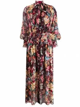 Zimmermann платье с цветочным принтом 6037DALL