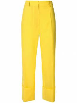 Rochas укороченные брюки широкого кроя ROWO305410RO200200