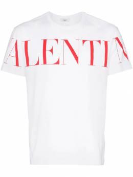 Valentino футболка с логотипом UV3MG03B5FN