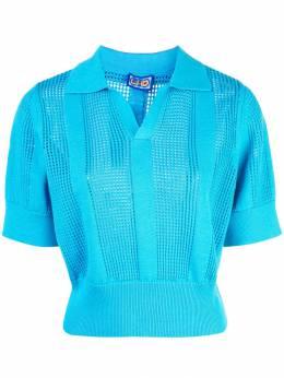 Lhd рубашка-поло с перфорацией LHD04KO0040A