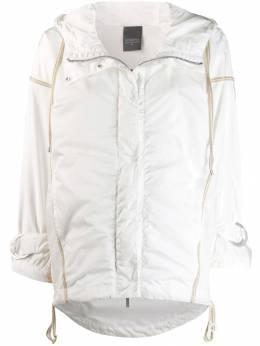 Lorena Antoniazzi куртка-дождевик с капюшоном LM35200C31