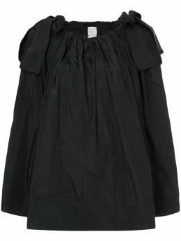 Maison Rabih Kayrouz расклешенная блузка с бантами B712H17