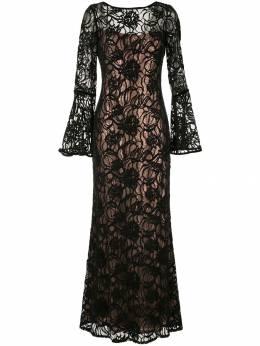 Tadashi Shoji многослойное платье с пайетками BFZ18057L