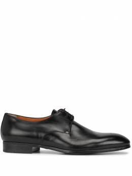 Santoni туфли на шнуровке INDUCT