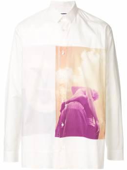 Jil Sander рубашка с графичным принтом JSUO741447MO244230A