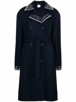 Magda Butrym double breasted trench coat AMURCOAT