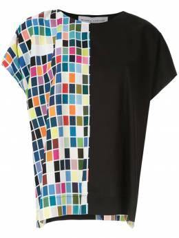 Gloria Coelho блузка с принтом I19I008B