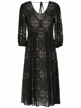 Alcacuz платье миди 'Linha' N938182PP
